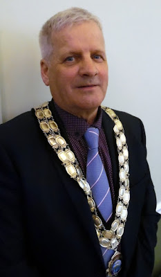 Coun Donald Campbell - Brigg Town Mayor 2018/19 - see Nigel Fisher's Brigg Blog