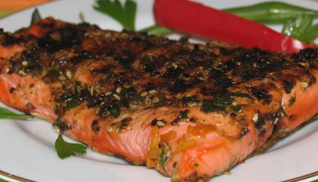 Grilled Salmon Recipe | Healthy Seafood Salmon Recipe Tips