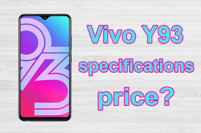 Vivo Y93 price and specifications Full details