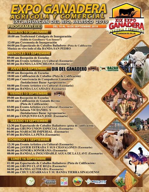 expo ganadera ixtlahuacán del río 2019