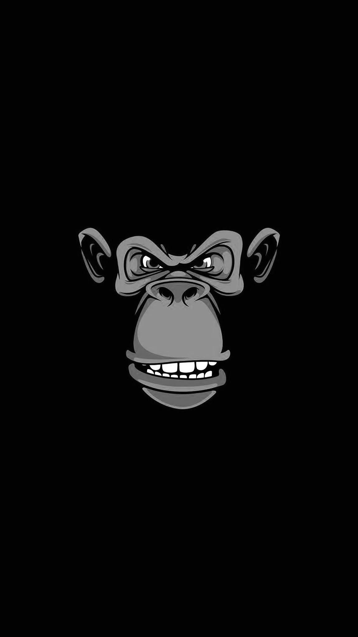 ape minimal mobile wallpaper