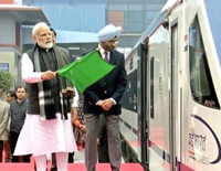 On Inaugural Run, India's Fastest Train Vande Bharat Express - Train 18
