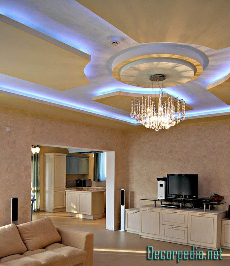 Living Room Design Tool: Latest Pop False Ceiling Design Ideas For Living Room And