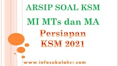 Paket Lengkap Download Soal KSM Jenjang MI, MTs dan MA Tahun 2021
