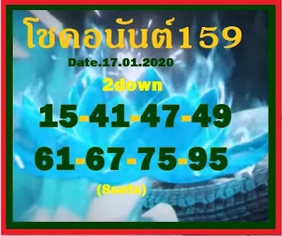 Thai Lottery 3up Live Result Facebook Timeline Blogspot 17 Januar 2020
