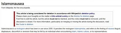 Islamonausea wiki