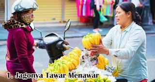 Jagonya Tawar Menawar merupakan salah satu keunikan wanita Indonesia saat berbelanja