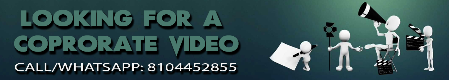 Call us for your Corporate Video needs