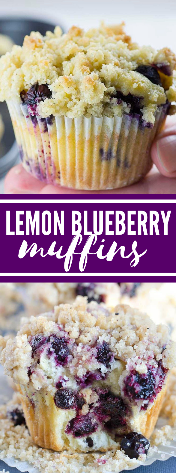 Lemon Blueberry Muffins #desserts #breakfast