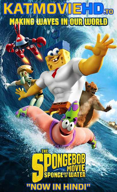 The SpongeBob Movie: Sponge Out of Water (2015) BluRay 720p & 480p Dual Audio [Hindi & English]