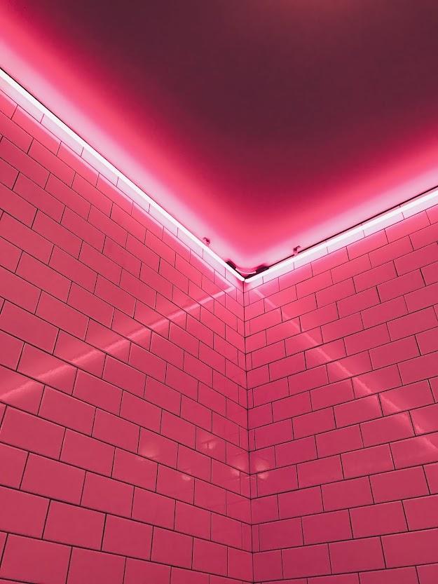 Download Beautiful wallpaper of pink walls
