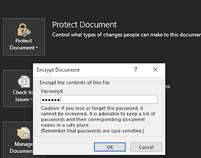 Enkripsi Password Microsoft Office