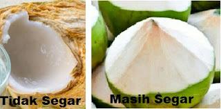 cara membedakan kelapa muda