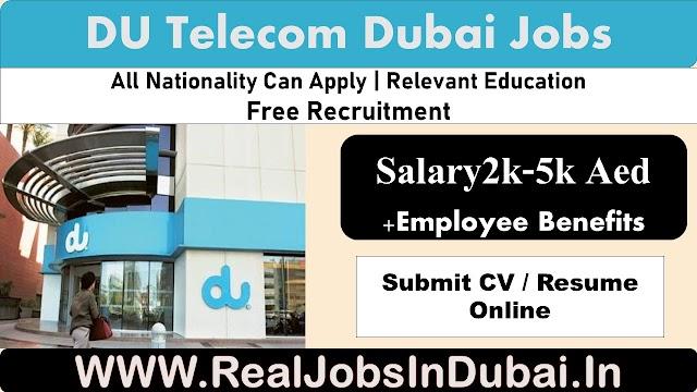 DU Careers Jobs Vacancies In Dubai- UAE