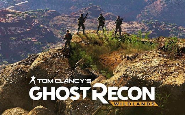 لعبة #-5 ghost recon  wildlands الاصدار الجديد 2017
