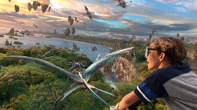 Flight of Passage Avatar Concept Art Walt Disney World Animal Kingdom