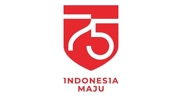 Logo Resmi HUT RI ke-75 (17 Agustus 2020)