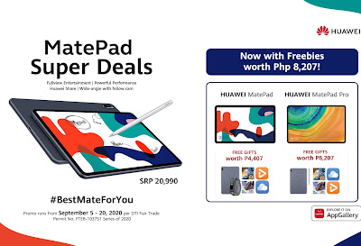 Balance health, work and play: Choose the #BestMateForYou with Huawei's MatePad Super Deals