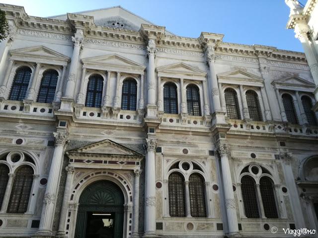 La Scuola Grande di San Rocco nel Sestiere di San Polo a Venezia