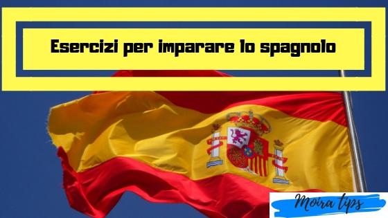 esercizi di spagnolo da stampare