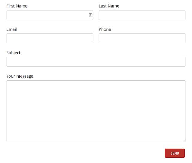 Creating a 2-Column Responsive Form with Contact form 7 WordPress Plugin