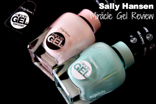 Sally Hansen Miracle Gel Review + Swatches
