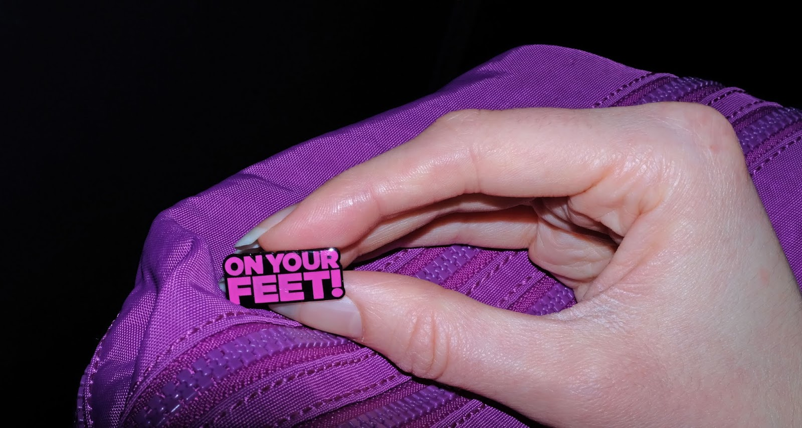 On Your Feet! musical collectable pin