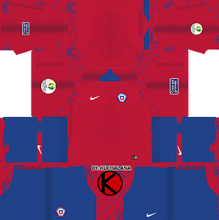 Chile 2019 Copa America Kit -  Dream League Soccer Kits