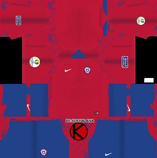 Chile 2019 Copa America Kit - Dream League Soccer Kits