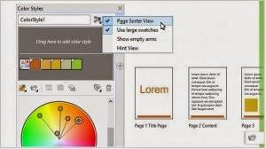 Review CorelDRAW X7 - Easy Color Harmony