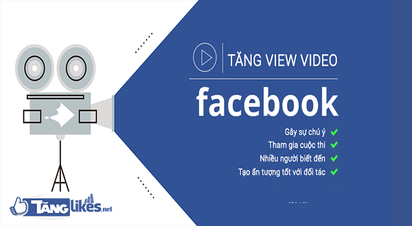 tang luot view video facebook