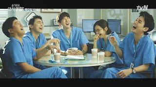 Dari kiri: Seok Hyeong, Ik Jun, Jeong Won (Andrea), Song Hwa, Jun Wan