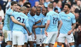 Manchester City Diambang Juara Liga Inggris