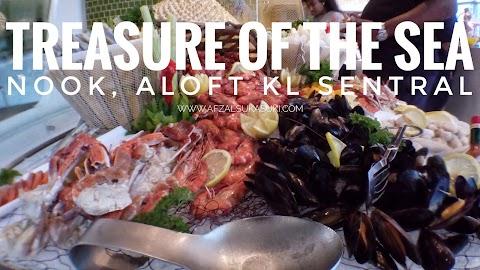 Nikmati Seafood Buffet Di Treasure Of The Sea, Aloft KL Sentral