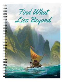 moana notebook