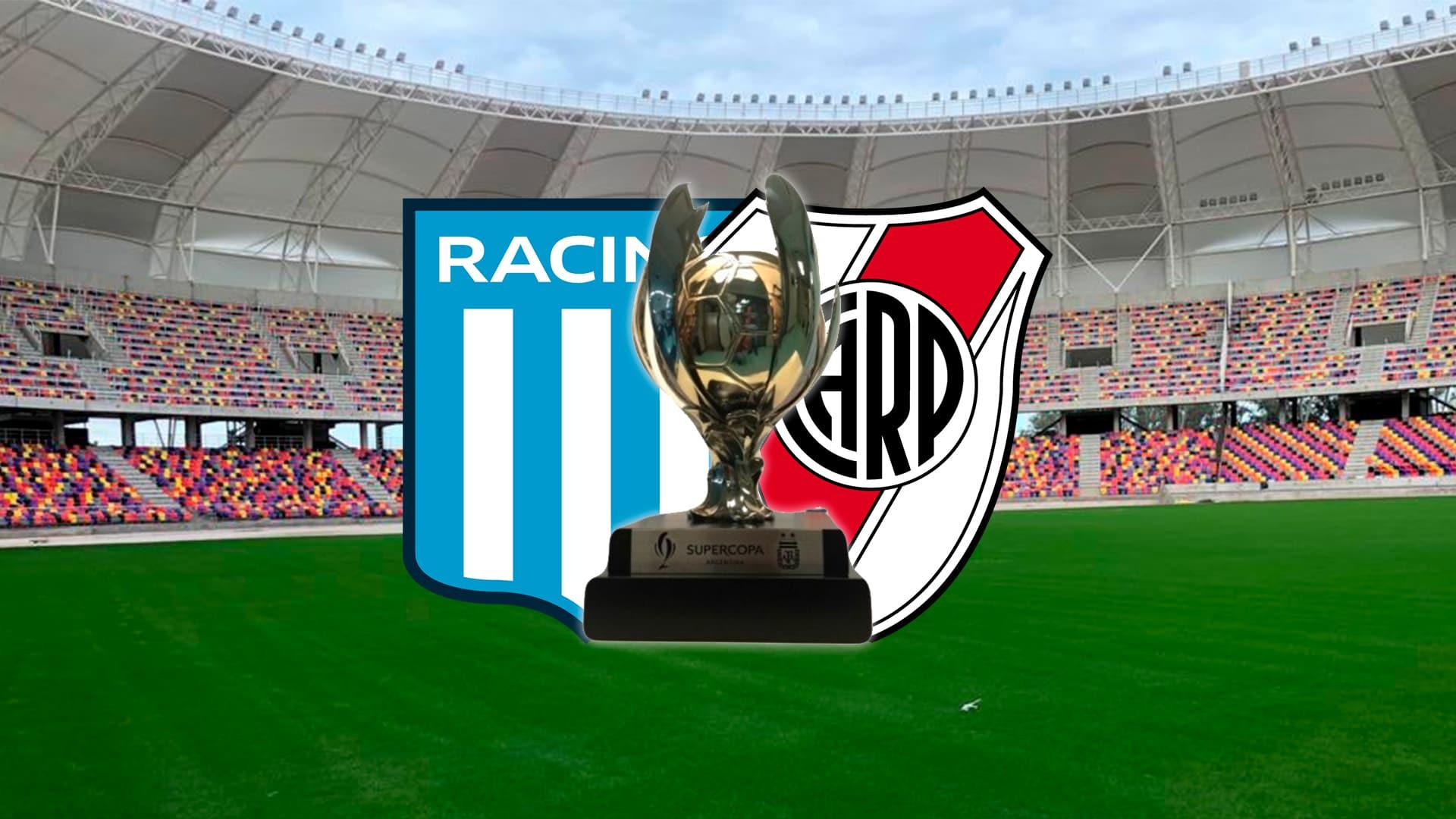 La final de la Supercopa Argentina entre River y Racing se jugará en la primera semana de marzo