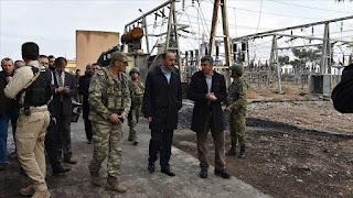 تركيا تبدأ تزويد منازل تل أبيض ورأس العين السوريتين بالكهرباء