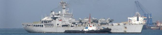 More Liquid Medical Oxygen (LMO) Arrives On Board Ins Shardul of Southern Naval Command