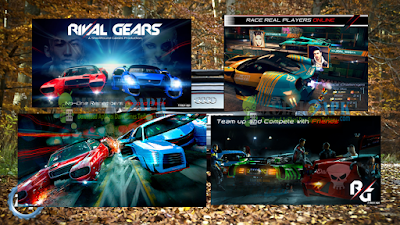 Rival Gears Versi v0.60 Apk+Data Mod Unlimited Money