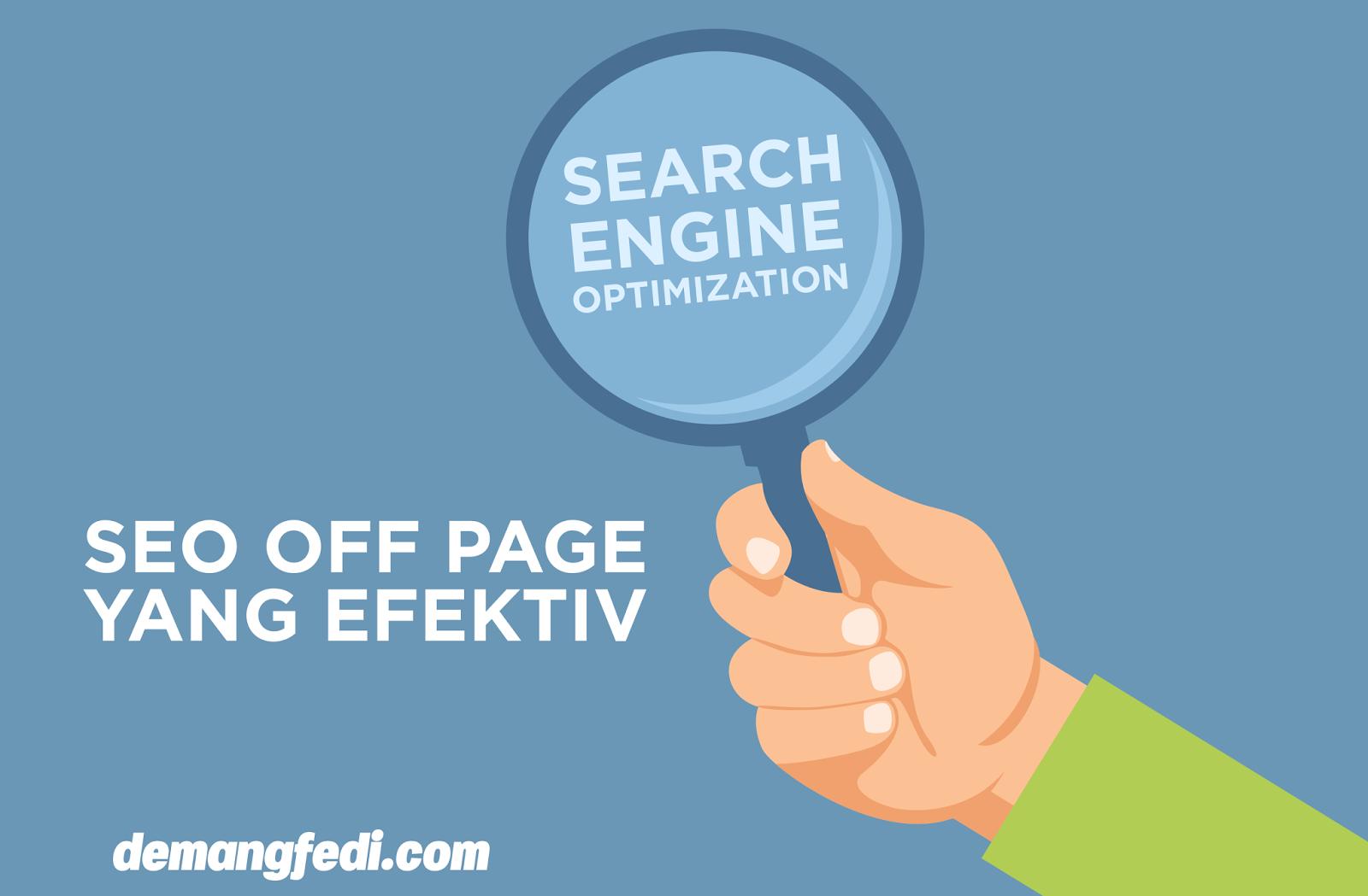 SEO Off Page Yang Efektif