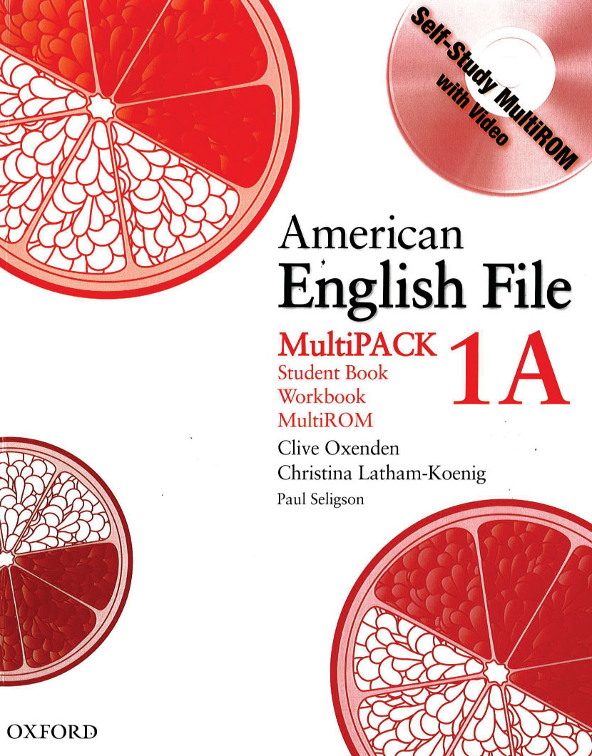 American English File Multipack 1A