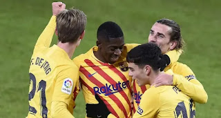 Barca remain highest-scoring La Liga team despite not having a center forward.