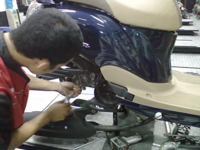 Bảo dưỡng xe máy, sửa chữa xe Yamaha chuyên nghiệp