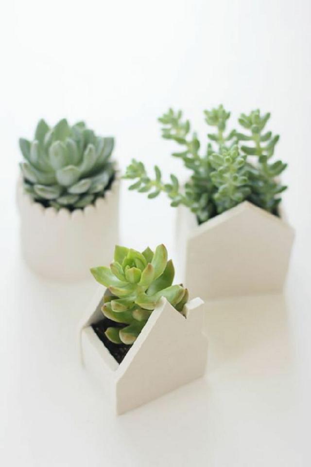 Pot Miniatur Rumah