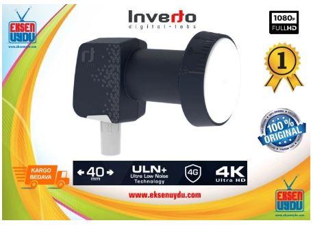 Inverto Premium Single (Single) Universal 40mm PLL Lnb-Single Output İnverto Lnb