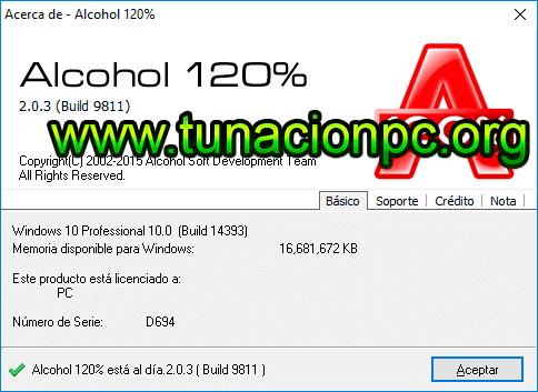 Alcohol 120.2.0.3.9811