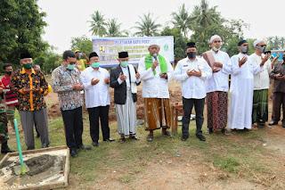 Peletakan Batu Pertama Pembangunan Rusun Pesantren Annihayah Oleh Ahmad Syaikhu