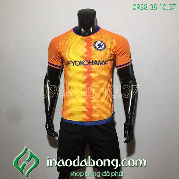 Áo bóng đá câu lạc bộ Chelsea cam 2020