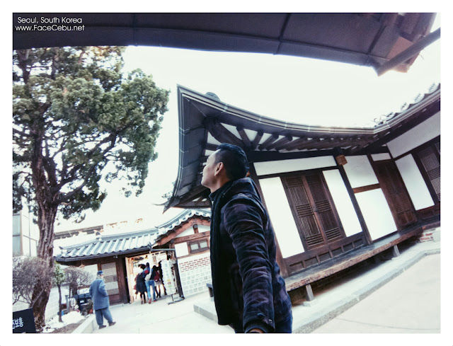 At Bukchon Hanok Village Tourist Information Centre