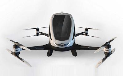 اول طائرة مرواحية كهربائية في العالم